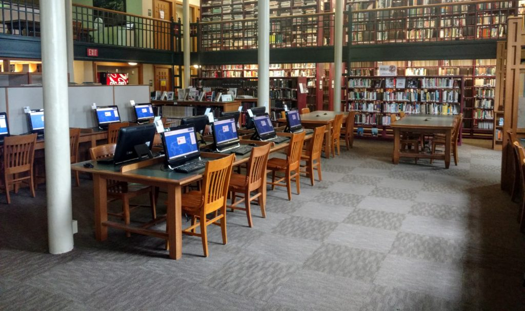 Reference Room computers