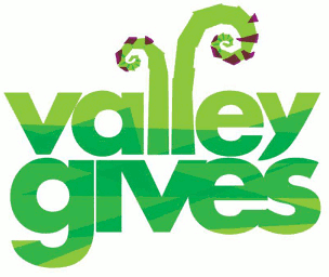 Valley Gives event logo