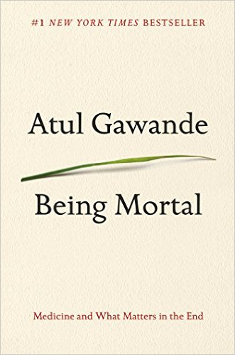 Being Mortal, book cover