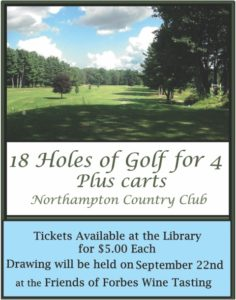 18 Holes of Golf for 4 Raffle