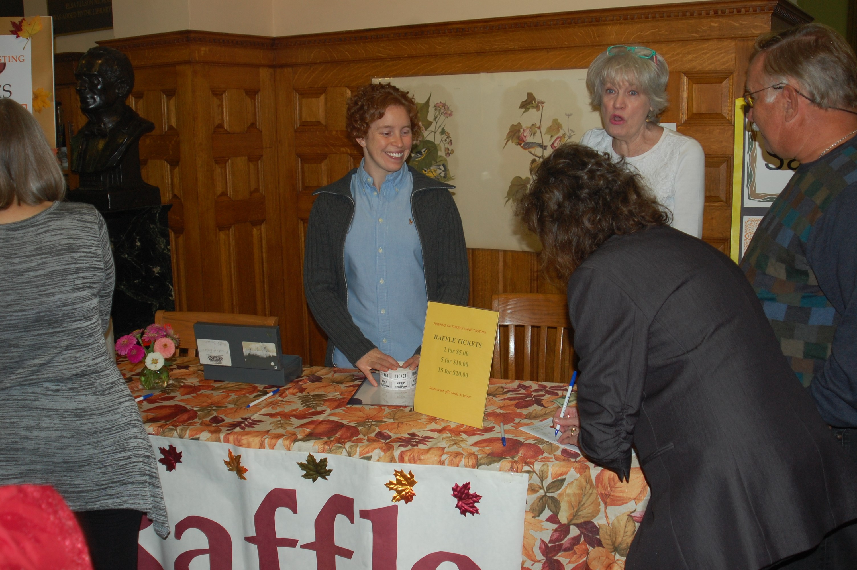 Raffle table