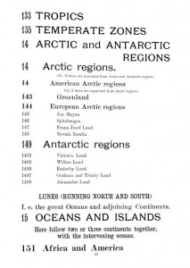 a page from the local list (geographic subdivisions)
