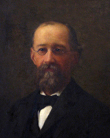 Charles A. Cutter, portrait by W.H.W. Bicknell
