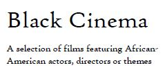 black cinema image