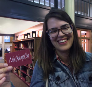 Photo of winner of Northampton gift card